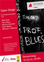 Open Stage - Prof Blues