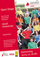 Open Stage - vocal resources