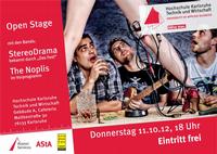 Open Stage - Bühne frei für Live-Musik mit Studierenden der Hochschule Karlsruhe